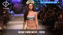 Vichi Under the Sea Mermaid Vibes Miami Swim Week Art Hearts Fashion 2019 | FashionTV | FTV