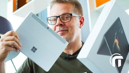 """Microsoft Surface GO 10"""",  1ère impression et unboxing"""