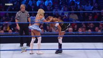 Kelly Kelly, Melina & The Bella Twins vs. Team Lay-Cool, Rosa Mendes & Alicia Fox - SmackDown - WWE Diva Wrestling Nikki Bella Brie Bella Fight Fighting Match Sports MMA