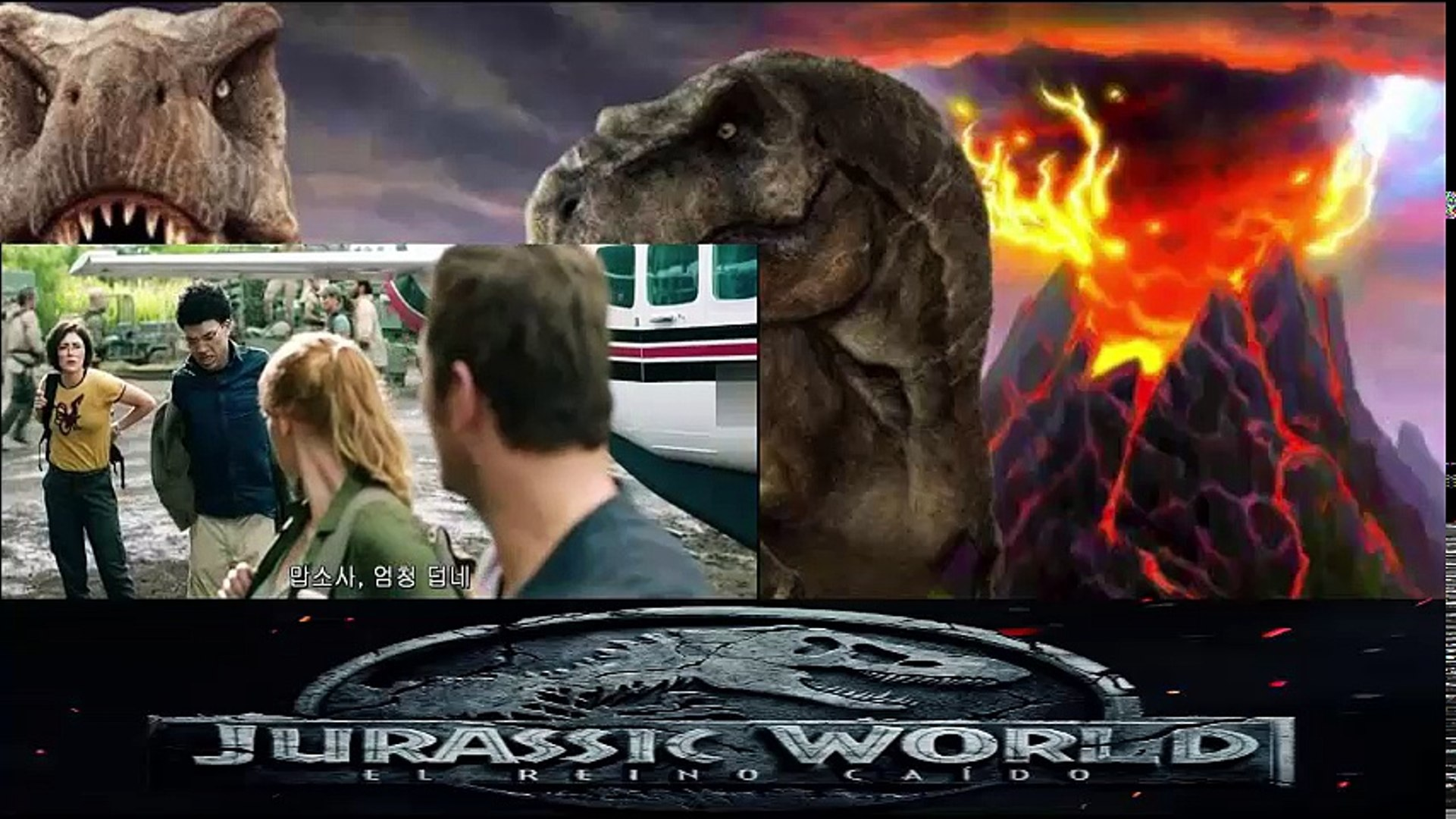 Jurassic World 2 2018 Pelicula Completa Online Español Castellano Vídeo Dailymotion