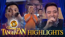 Tawag ng Tanghalan: Vice Ganda likes the voice of basketball player Alfrancis