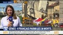 Gênes: une quatrième victime française découverte dans les décombres