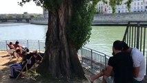 Paris Plages sur les quais de Seine