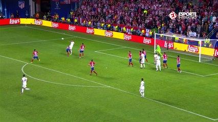 Gol do Real! Sergio Ramos faz de pênalti e vira o jogo para os merengues!