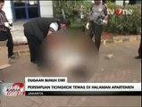 Diduga Bunuh Diri,  Seorang WNA Ditemukan Tewas di Halaman Apartemen