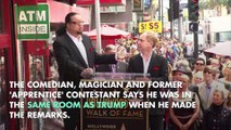 Penn Jillette Says There Are Tapes of Trump Saying Racial Slurs
