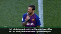 Barça - Messi : ''Reconquérir la Ligue des Champions''