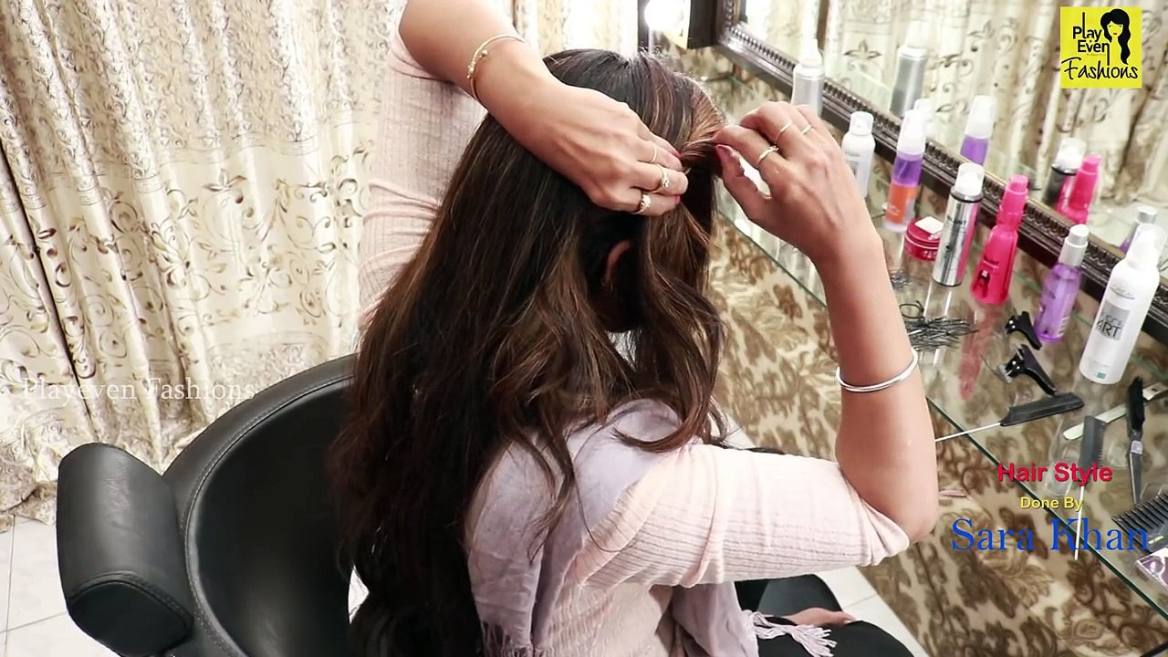 Easy Self Hairstyles For Wedding Party Everyday Hairstyles Hair Style Girl Video Video Dailymotion