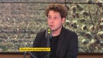 """Ecologie """"Quand Nicolas Hulot réclame une union sacrée, en fait il parle à son gouvernement"""" croit savoir Julien Bayou, porte-parole #EELV"""
