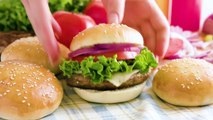 Homemade Hamburger Buns are easy to make and will take your burgers over the top! Feel like you are eating at a gourmet burger bar with homemade buns, and they