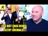 Dana White keeps his promise meets President Donald Trump in the White House,TJ on Cody,Cejudo