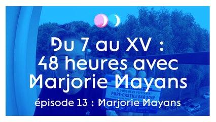 Deux nuits avec Marjorie Mayans