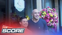 The Score: Brandon Vera welcomes fans at the opening of the new sports bar Alta Relilk