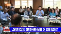 Lower house, DBM compromise on 2019 budget