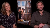 """Rose Byrne and Chris O'Dowd on """"Juliet, Naked"""" and the celebrity rumor mill"""