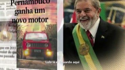 Em PE, candidato do DEM e PSDB faz campanha usando imagem de Lula e estrela do PT