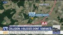 """Collision entre un car et un camion: """"Il y avait des travaux, mais pas de dangerosité particulière"""", assure la préfecture de l'Aisne"""