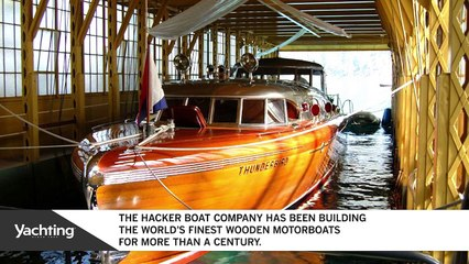Hacker-Craft: World-Class, Custom-Built Mahogany Boats