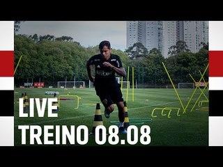 LIVE DE TREINO 08.08 | SPFCTV