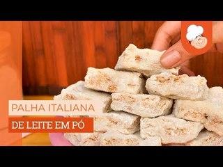 Palha italiana de leite e pó — Receitas TudoGostoso