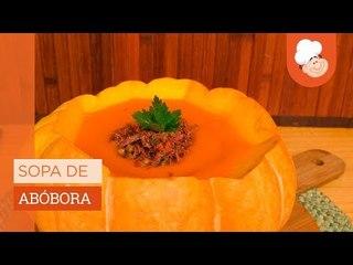 Sopa de abóbora — Receitas TudoGostoso