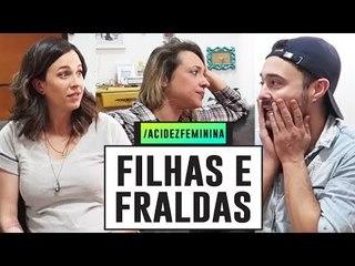 ELA TEM PAI! - Machismo na PATERNIDADE com Tiago e Gabi