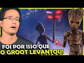 Porque o Groot conseguiu LEVANTAR o Machado mas NÃO o MJOLNIR? EXPLICARAM!