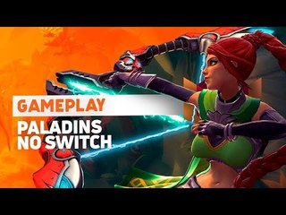 Paladins: Gameplay ao vivo no Nintendo Switch!