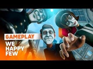We Happy Few - Gameplay ao vivo!