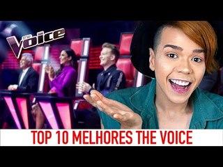 TOP 10 MELHORES - THE VOICE AUSTRALIA - Por Kassyano Lopez (Esquenta THE VOICE BRASIL 2018)