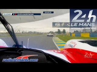 Fernando Alonso in the 24 Hours of Le Mans 2018