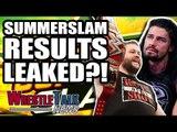MAJOR WWE SummerSlam 2018 Results LEAKED?! | WrestleTalk News Aug. 2018