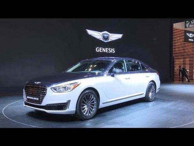 [2017 서울모터쇼] 현대차, '제네시스 G90 스페셜 에디션' 공개 (Genesis G90 Special Edition, HYUNDAI)