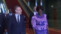 Cumhurbaşkanı Yardımcısı Oktay, Zambiya Cumhurbaşkanı Yardımcısı Wina ile görüştü - ANKARA