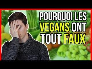 """""""POURQUOI LES VÉGANS ONT TOUT FAUX"""" - MA RÉPONSE"""