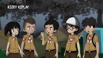 Kemarahan Genderuwo, with Wowo dan Teman - teman, Tiara N Tun | Kartun Hantu - Rizky Riplay