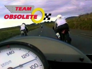 Team Obsolete at the Manx GP 1993   Part 2   Benelli 350cc On Board