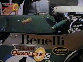 Team Obsolete at the Manx GP 1993 | Part1|  Benelli 350cc