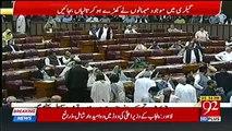 Imran Khan arrives at National Assembly: Parliamentarians greet Imran Khan ahead of PM election