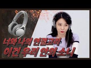 너와 나의 연결선?! 4.4파이 소니 헤드폰 MDR-1AM2 (Sony, Headphone Review)