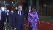 Cumhurbaşkanı Yardımcısı Oktay, Zambiya Cumhurbaşkanı Yardımcısı Wina ile Görüştü