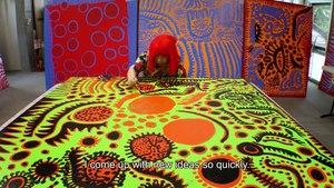 Trailer du documentaire Infinity de Yayoi Kusama