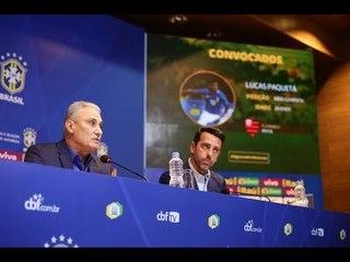 Convocação da Seleção Brasileira para os amistosos contra Estados Unidos e El Salvador