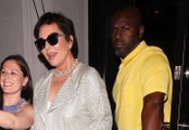 Watch: Kris Jenner And Corey Gamble Engaged? She Hints They Are To James Corden