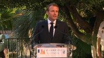 Discours du Président de la République, Emmanuel Macron lors de la commémoration de la Libération de Bormes-les-Mimosas
