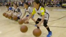 Stephen Curry - 'In order to play basketball, you have to know how to dribble'. Warriors Basketball Camp 2018