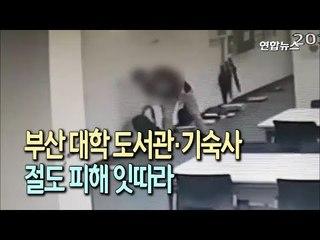 부산 대학 도서관·기숙사서 절도 피해 잇따라…2명 입건 / 연합뉴스 (Yonhapnews)
