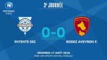 J3 : Entente SSG – Rodez Aveyron F. (0-0), le résumé
