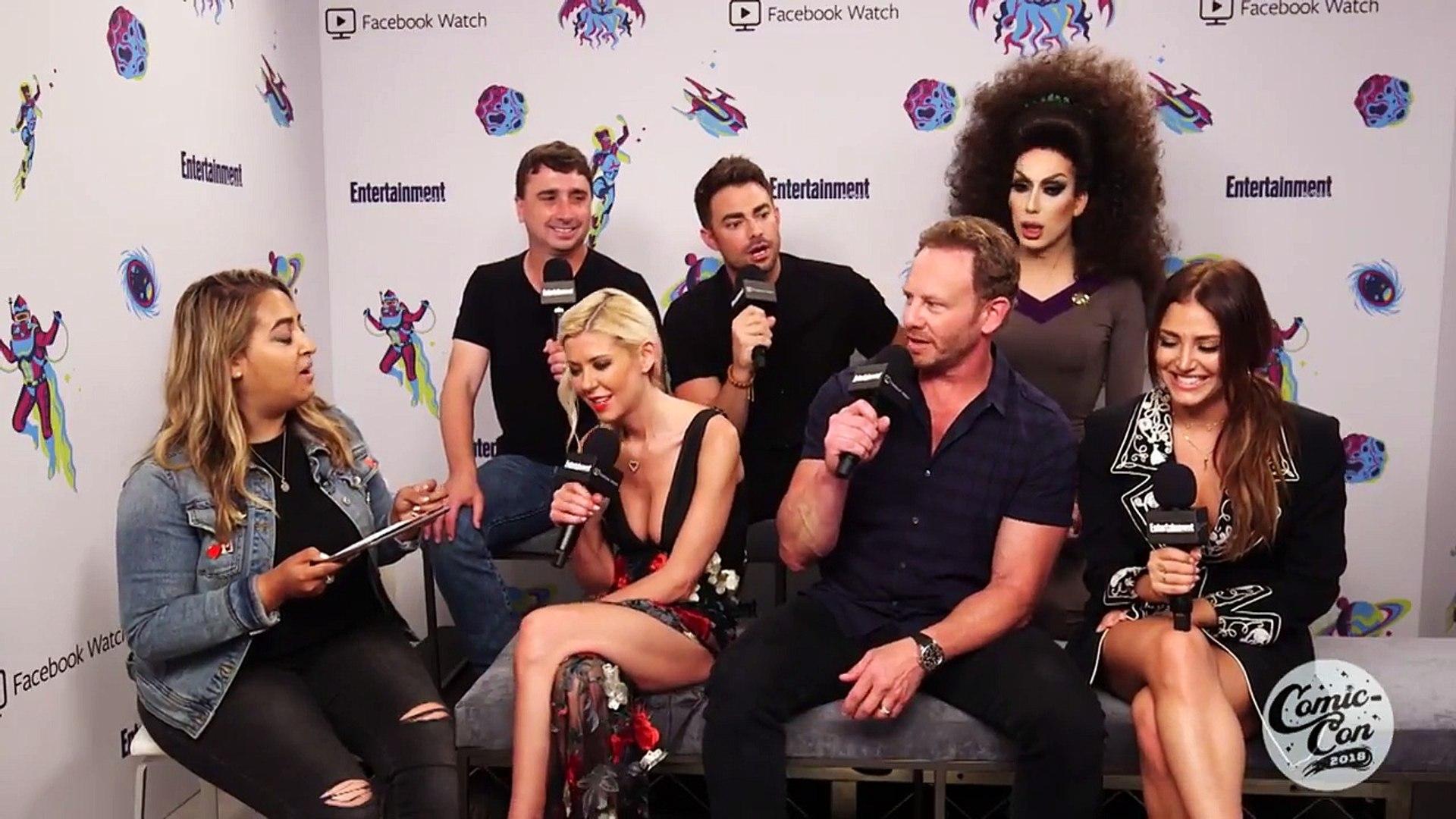 'Sharknado 6' Cast Talks About Their Explosive Final Installment | SDCC 2018 | Entertainme