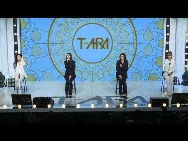 T-ARA(티아라) 'What's my name?' Showcase TALK (쇼케이스, 내 이름은, JIYEON, QRI, HYOMIN, EUNJUG)